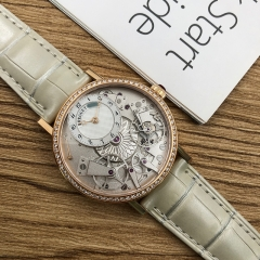 Breguet Tradition 40mm Mother of Pearl 18K Rose Glod Automatic 7038BR/18/9V6/D00D