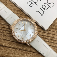 Harry Winston Midnight 29mm 18K Rose Gold White Mother Of Pearl Dial Automatic MIDAHM29RR001