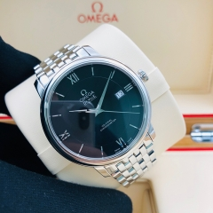 OMEGA De Ville Prestige 39.5mm Stainless Steel Black Dial Automatic 424.10.40.20.01.001