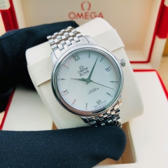 OMEGA De Ville Prestige 32.7mm Stainless Steel White Dial Automatic 424.10.33.20.05.001