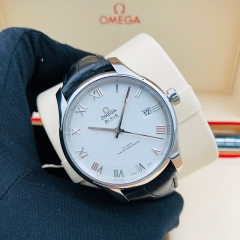 OMEGA De Ville Hour Vision 41mm Stainless Steel White Dial Automatic 433.13.41.21.02.001