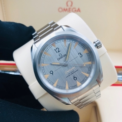 OMEGA Seamaster Railmaster 40mm Stainless Steel Grey Dial Automatic 220.10.40.20.06.001