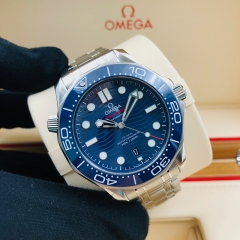 OMEGA Seamaster Diver 300M 42mm Stainless Steel Blue Dial Automatic 210.30.42.20.03.001