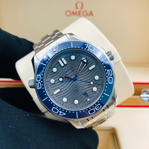 OMEGA Seamaster Diver 300M 42mm Stainless Steel Grey Dial Automatic 210.30.42.20.06.001