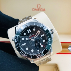 OMEGA Seamaster Diver 300M Stainless Steel Black Dial 210.30.42.20.01.001