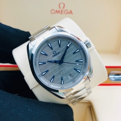 OMEGA Seamaster Aqua Treea 150M 41mm Stainless Steel Grey Dial Automatic 220.10.41.21.06.001