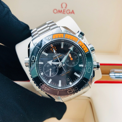 OMEGA Planet Ocean 600M 45.5mm Stainless Steel Black Dial Automatic 215.30.46.51.01.002