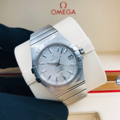 OMEGA Constellation 35mm Stainless Steel Silver Dial Automatic 123.10.35.20.02.001