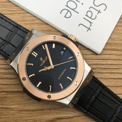 Hublot Classic Fusion 45mm Titanium-Rose Gold Black Dial Automatic 511.NO.1181.LR