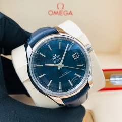 OMEGA De Ville Hour Vision 41mm Stainless Steel Blue Dial Automatic 433.33.41.21.03.001