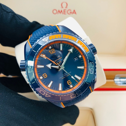 OMEGA Planet Ocean 600M 45.5mm Blue Ceramic Blue Dial Automatic 215.92.46.22.03.001