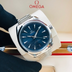 OMEGA Seamaster Aqua Terra 150M 41mm Stainless Steel Blue Dial Automatic 220.10.41.21.03.001