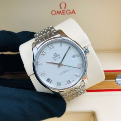 OMEGA De Ville Hour Vision 41mm Stainless Steel White Dial Automatic 433.10.41.21.02.001