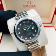 OMEGA De Ville Ladymatic 34mm Stainless Steel Black Dial Automatic 425.30.34.20.57.004
