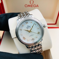 OMEGA De Ville Prestige 32.7mm Stainless Steel White Dial Automatic 424.10.33.20.55.002