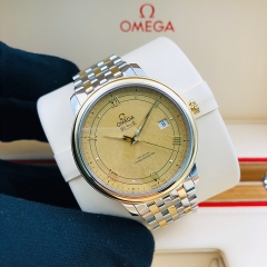 OMEGA De Ville Prestige 39.5mm Steel-Yellow Gold Champagne Dial Automatic  424.20.40.20.08.001