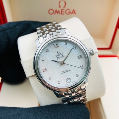 OMEGA De Ville Prestige 32.7mm Stainless Steel White Dial Automatic 424.10.33.20.55.001