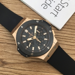 Hublot Big Bang 44mm 18K Rose Gold Carbon Fiber Dial Automatic 301.PM.1780.RX