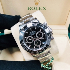 ROLEX Daytona 40mm Stainless Steel Black Dial Automatic 116500LNBK