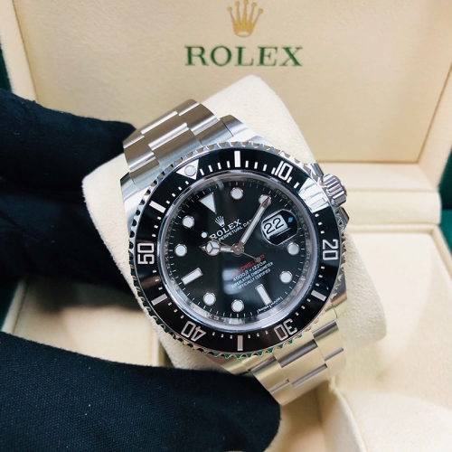 ROLEX Sea-Dweller 43mm Stainless Steel Black Dial Automatic 126600
