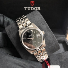 Tudor Prince Date 34mm Stainless Steel Black Dial Automatic M74000-0013