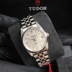 Tudor Prince Date 34mm Stainless Steel Black Dial Automatic M74000-0012