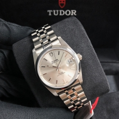Tudor Prince Date 34mm Stainless Steel Silver Dial Automatic M74000-0007