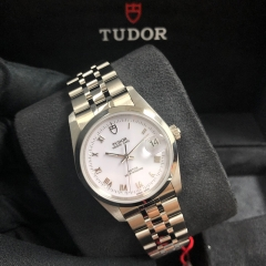 Tudor Prince Date 34mm Stainless Steel White Dial Automatic M74000-0006