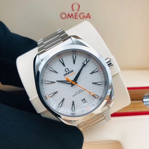 OMEGA Seamaster Aqua Terra 150M 41mm Stainless Steel Silver Dial Automatic 220.10.41.21.02.001