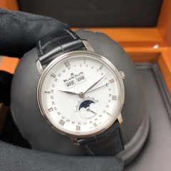 Blancpain Villeret 38mm Stainless Steel White Dial Automatic 6263-1127-55B
