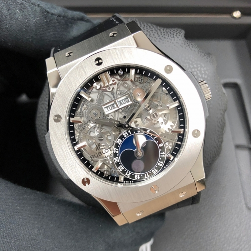 Hublot Classic Fusion Aerofusion Moonphase 45mm Ceramic Sapphire Dial Automatic 517.NX.0170.LR