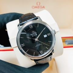 OMEGA De Ville Prestige 39.5mm Stainless Steel Black Dial Automatic 424.13.40.20.01.001