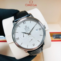 OMEGA De Ville Prestige 39.5mm Stainless Steel Silver Dial Automatic 424.13.40.21.02.001
