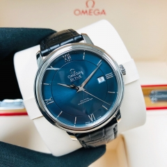 OMEGA De Ville Prestige 39.5mm Stainless Steel Blue Dial Automatic 424.13.40.20.03.001