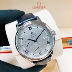OMEGA De Ville Prestige 39.5mm Stainless Steel Silver Dial Automatic 424.13.40.21.02.003