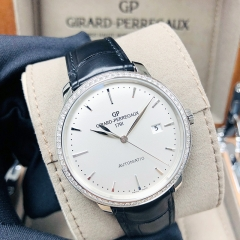 GIRARD PERREGAU 1966 Stainless Steel 40mm Silver Dial Automatic 49555D11A131-BB60