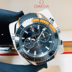OMEGA Planet Ocean 600M 45.5mm Stainless Steel Black Dial Automatic 21532465101001