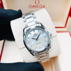 OMEGA Seamaster Aqua Terra 150M 28mm Stainless Steel White Dial Automatic 220.10.28.60.55.001