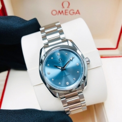 OMEGA Seamaster Aqua Terra 150M 28mm Stainless Steel Blue Dial Automatic 220.10.28.60.53.001