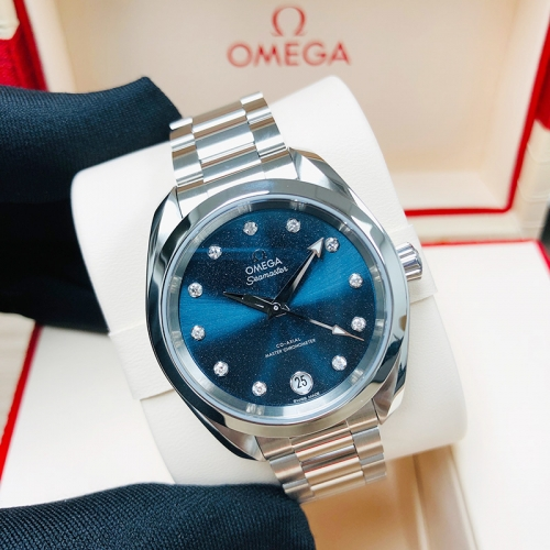 OMEGA Seamaster Aqua Terra 150M 34mm Stainless Steel Blue Dial Automatic 220.10.34.20.53.001