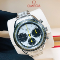 OMEGA Speedmaster Racing 40mm Stainless Steel White Dial Automatic 32630405004001