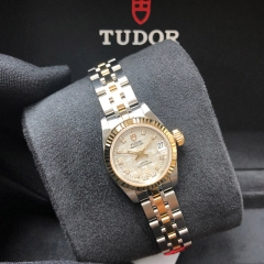 Tudor Prince Date 22mm Steel-Yellow Gold Silver Dial Automatic M92513-0008