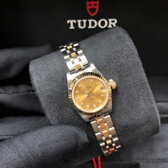 Tudor Prince Date 22mm Steel-Yellow Gold Champagne Dial Automatic M92513-0011