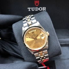 Tudor Prince Date Day 36mm Steel-Yellow Gold Champagne Dial Automatic M76213-0001