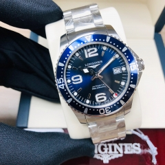 LONGINES Hydroconquest 39MM Stainless Steel Blue Dial Automatic L37414966