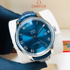 OMEGA De Ville Hour Vision 41mm Stainless Steel Blue Dial Automatic 433.13.41.21.03.001