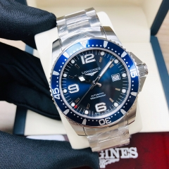 LONGINES Hydroconquest 41MM Stainless Steel Blue Dial Automatic L37424966