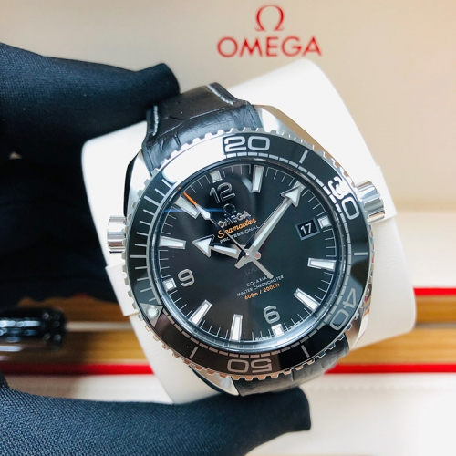 OMEGA Planet Ocean 600M 43.5mm Stainless Steel Black Dial Automatic 215.33.44.21.01.001