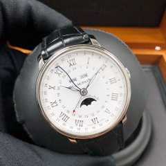 Blancpain Villeret 40mm Stainless Steel Silver Dial Automatic 6676-1127-55B