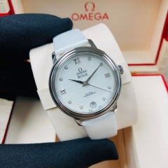 OMEGA De Ville Prestige 32.7mm Stainless Steel White Dial Automatic 424.12.33.20.55.001